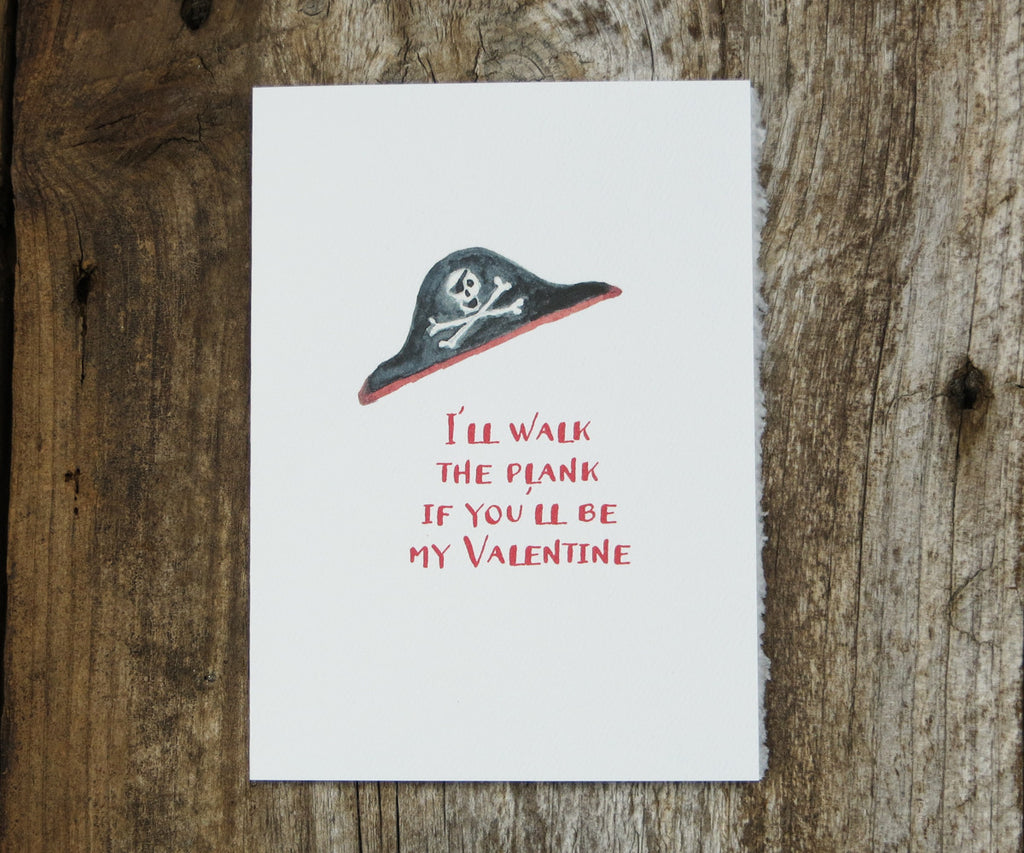 Pirate Valentines Card