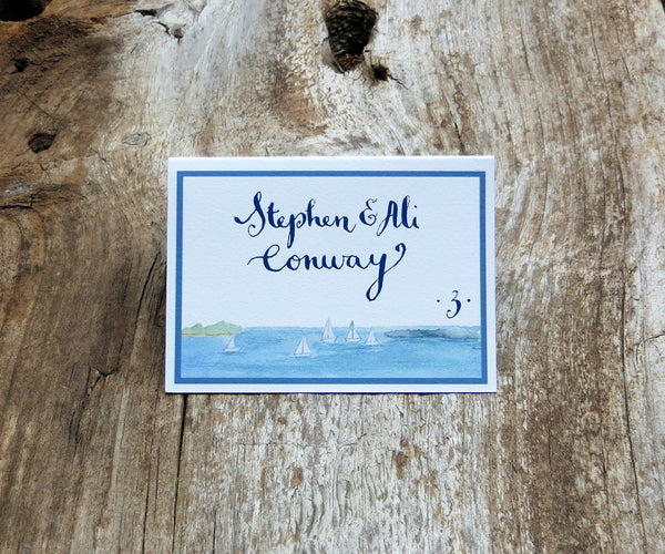 Harbor View Escort/Place Card