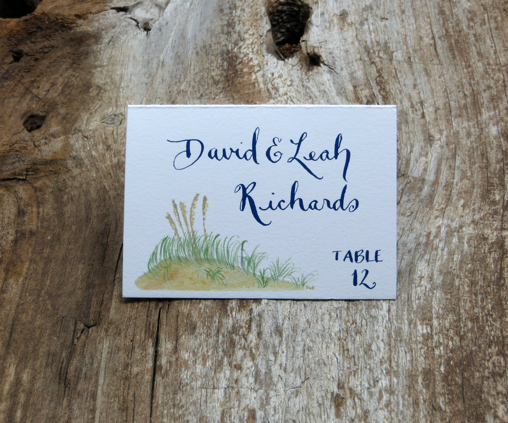Scallop Shell Escort/Place Card