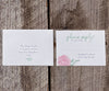 Peony with Greens Wedding Invitation