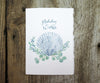 Scallop Shell Holiday Card