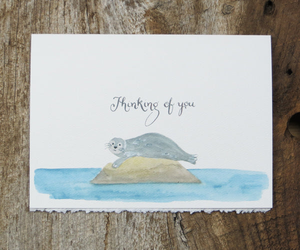 Seal Friendship & Love Card