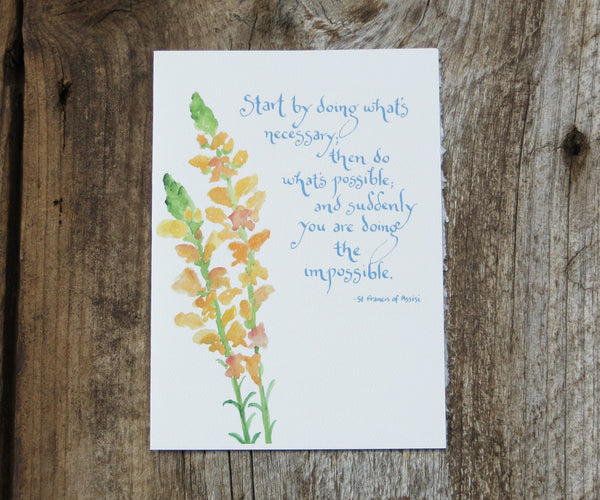 Snapdragon Quote Card