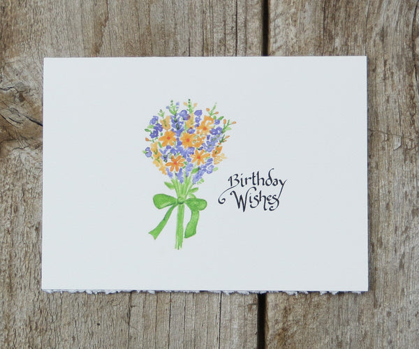 Snapdragon birthday card