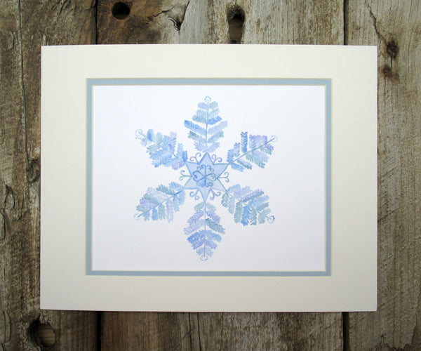 2019 NEW Snowflake Christmas Print