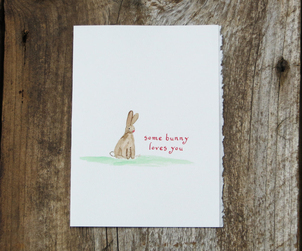 Some Bunny Friendship & Love Card