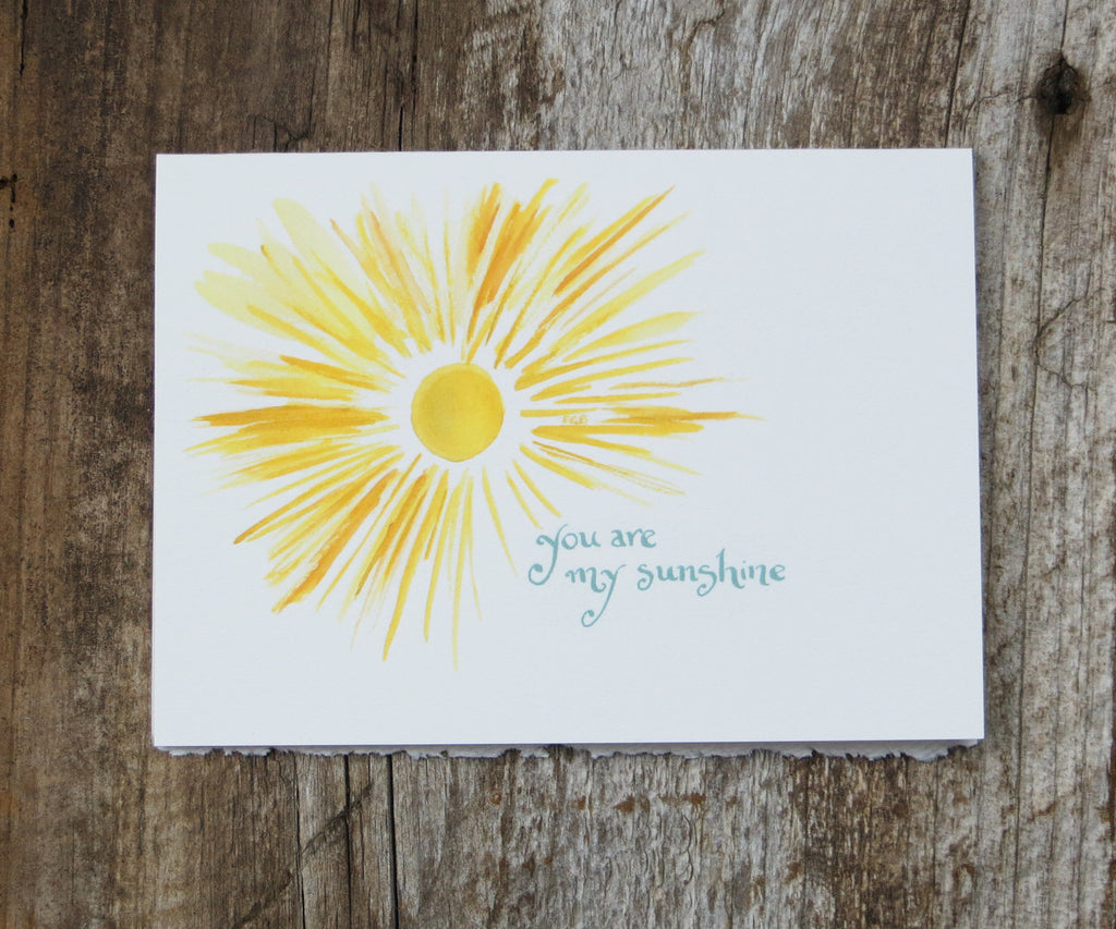 Sunshine Valentines Card