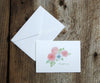 Blushing Anemone Wedding Thank You Notes