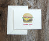 Big Burger Thank You Notes