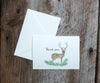 Highland Evergreen Wedding Thank You Notes
