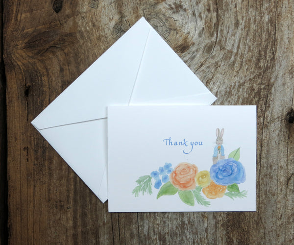 Peter Rabbit Thank You Notes
