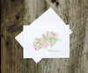 Apple Blossoms Thank You Notes