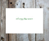 Whimsical Ornaments Holiday Card