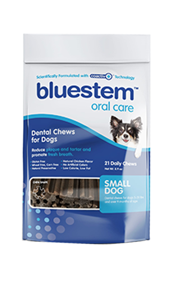 BLUESTEM™ DENTAL CHEWS - SMALL