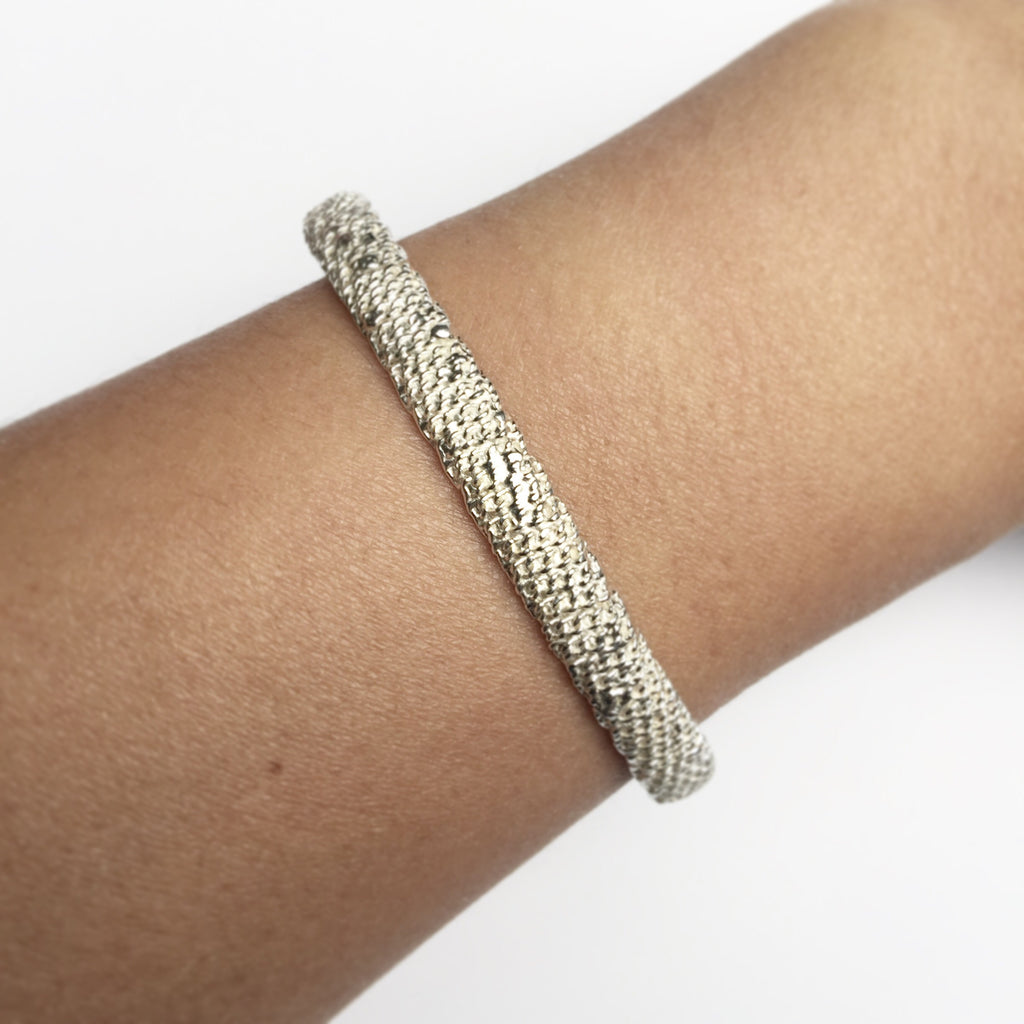 Ribbed Chunky Dome Bracelet