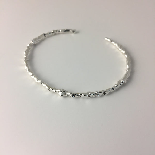 Twist Rough Bracelet Thin