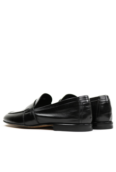 Soft Polished Leather Men's Penny Loafers