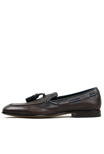 Tassel Detail Men's Leather Loafers