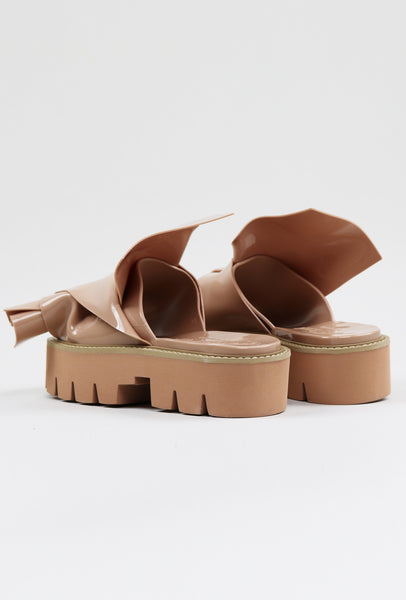 Nº21 Loves Kartell Knot Rubber Sandals Nude