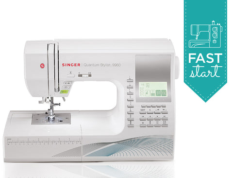Singer Quantum Stylist Sewing Machine Model 9960 Fast Start Online Course