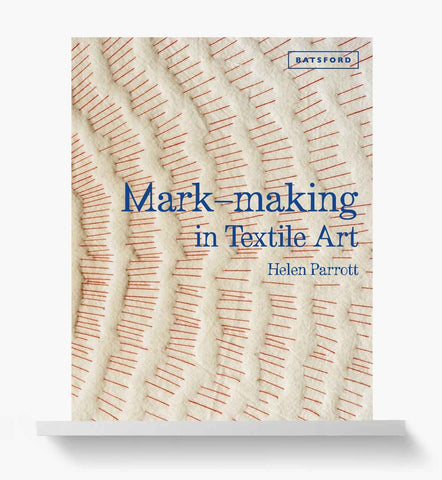 Mark-making in textile art book