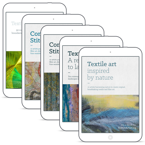 TextileArtist.org e-book bundle