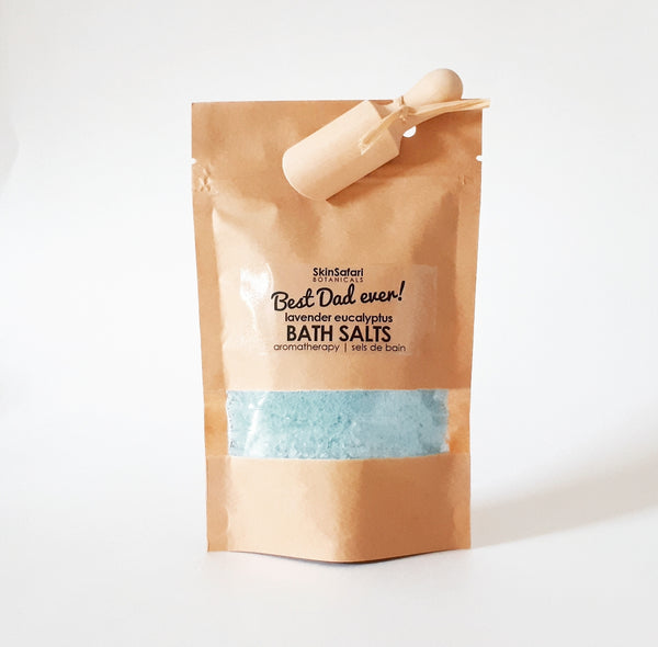 Father's Day Aromatherapy Bath Salts