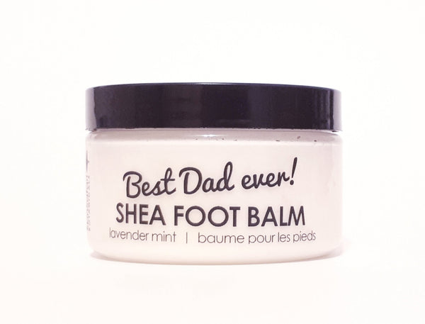 Father's Day Aromatherapy Lavender Mint Foot Balm