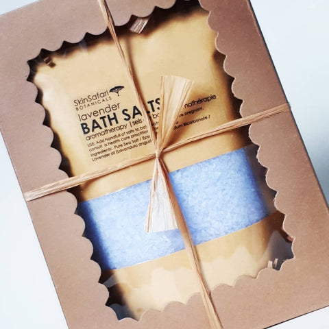 Aromatherapy Bath Salts in Gift Box