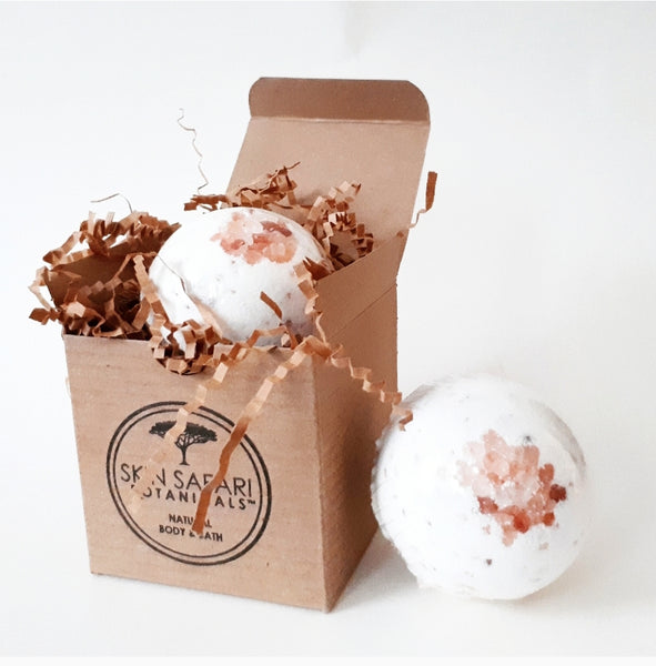 Himalayan Salt Bath Bombs