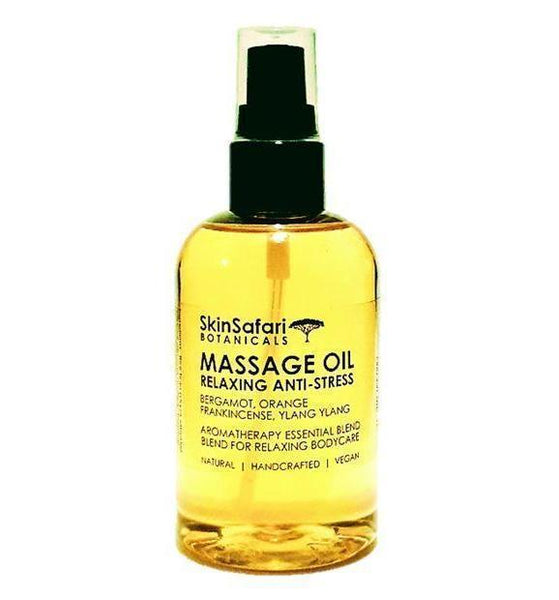 Relaxing Anti-Stress Body Massage Oil