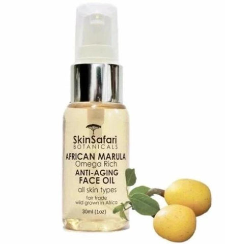 Marula Beauty Face Oil,  Omega Rich Anti Aging for all Skin Types