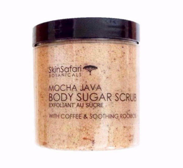 Natural Body Coffee Sugar Scrub with Shea Butter