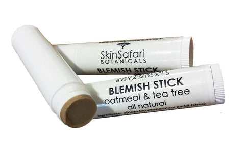 Natural Blemish Control Stick with soothing oatmeal, rooibos and T-tree