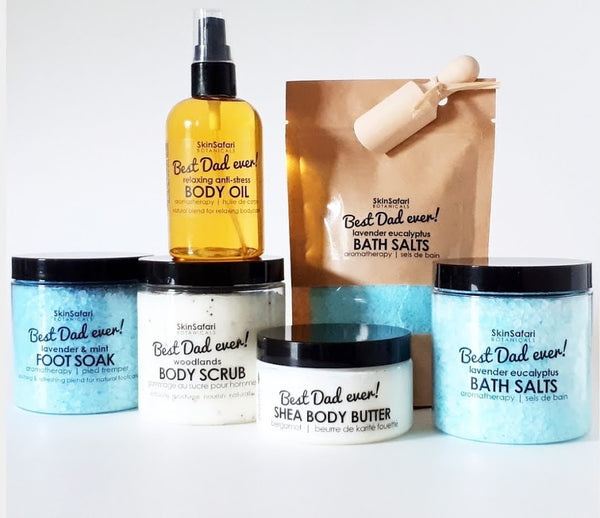 Father's Day All natural Body and Bath gifts