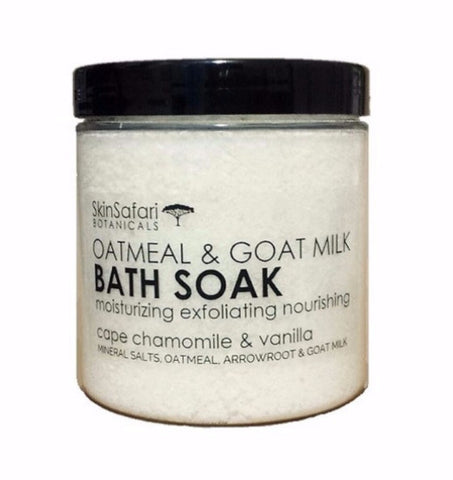 Oatmeal & Goat Milk Bath Salt Soak