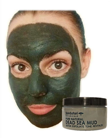 Mineral Dead Sea Mud Mask, 100% pure, creamy, ready to use