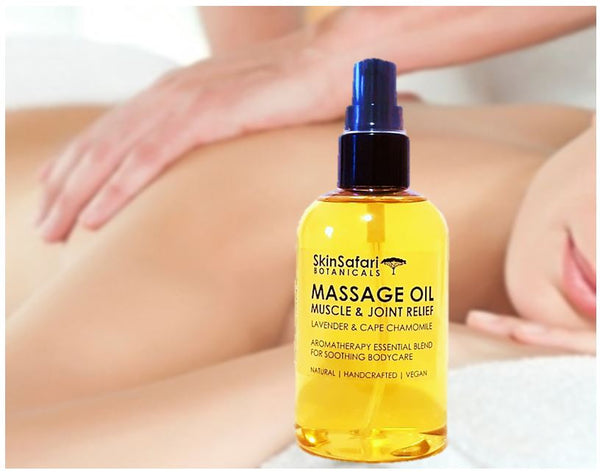 Muscle and Joint Soothing Aromatherapy Massage Oil