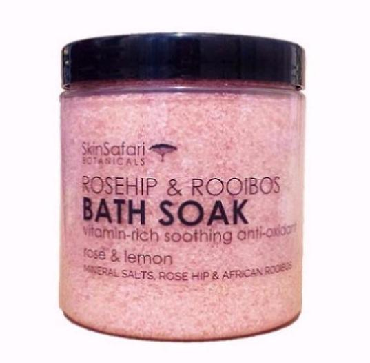 Rooibos and Rosehip Vitamin Rich Bath Salt Soak