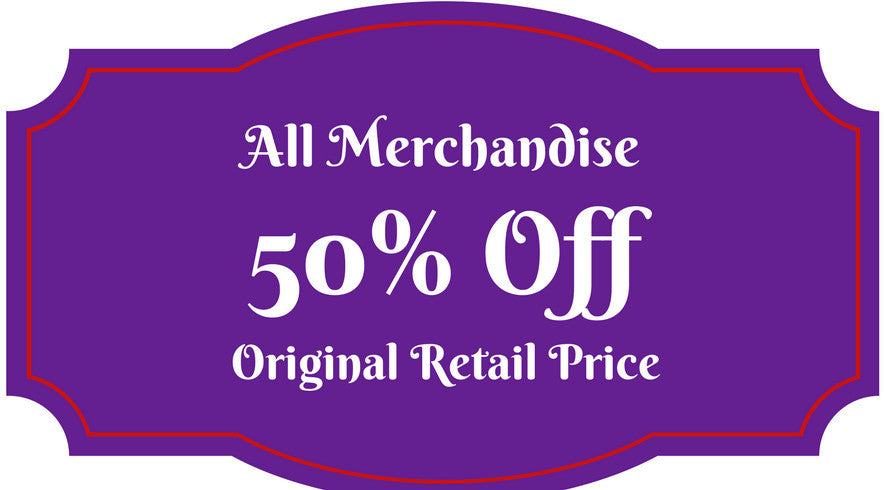 40% off all merchandise