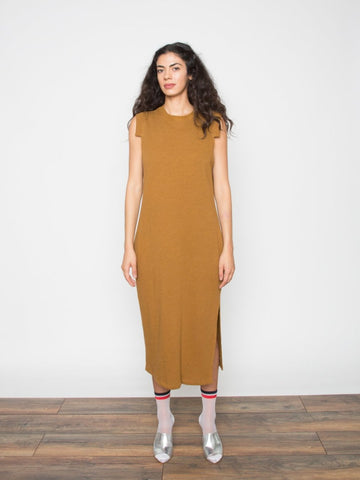 Bliss French Terry Midi Dress