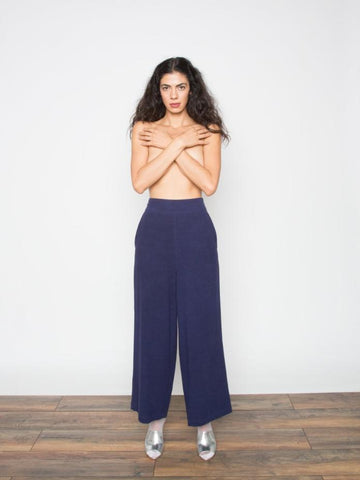 The Goods Silk Pull-On Pant
