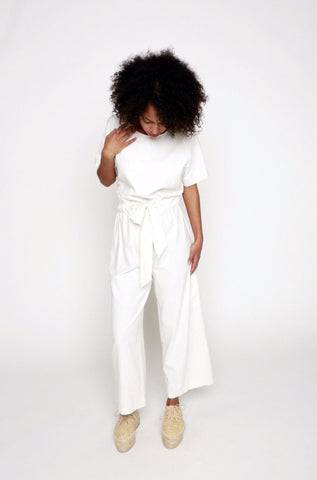 34°N 118°W The Goods Silk Jumpsuit