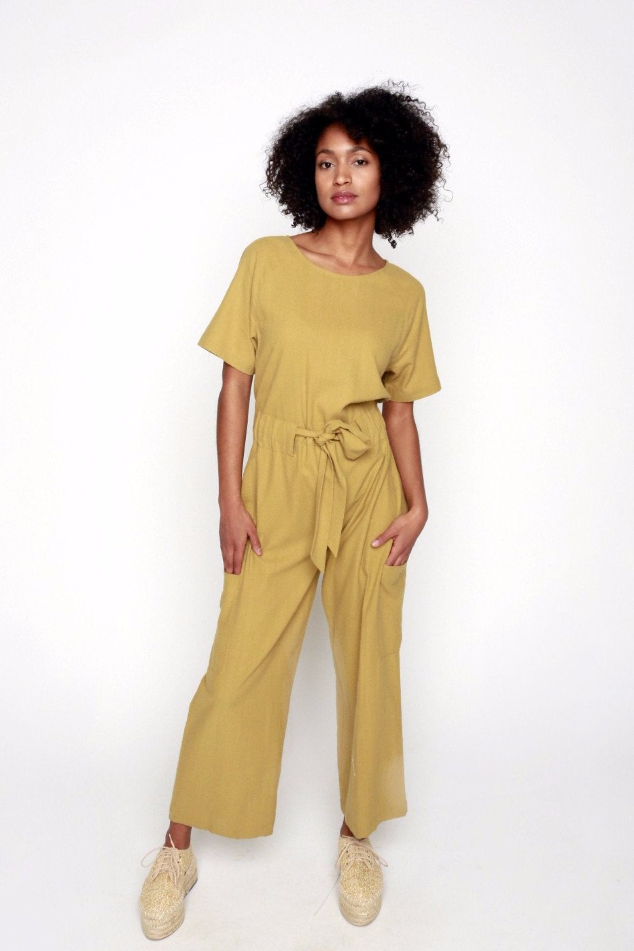 The Goods Silk Jumpsuit - 34°N 118°W