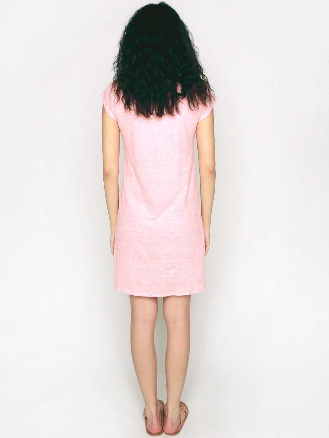 Palmetto Jersey Knot Dress