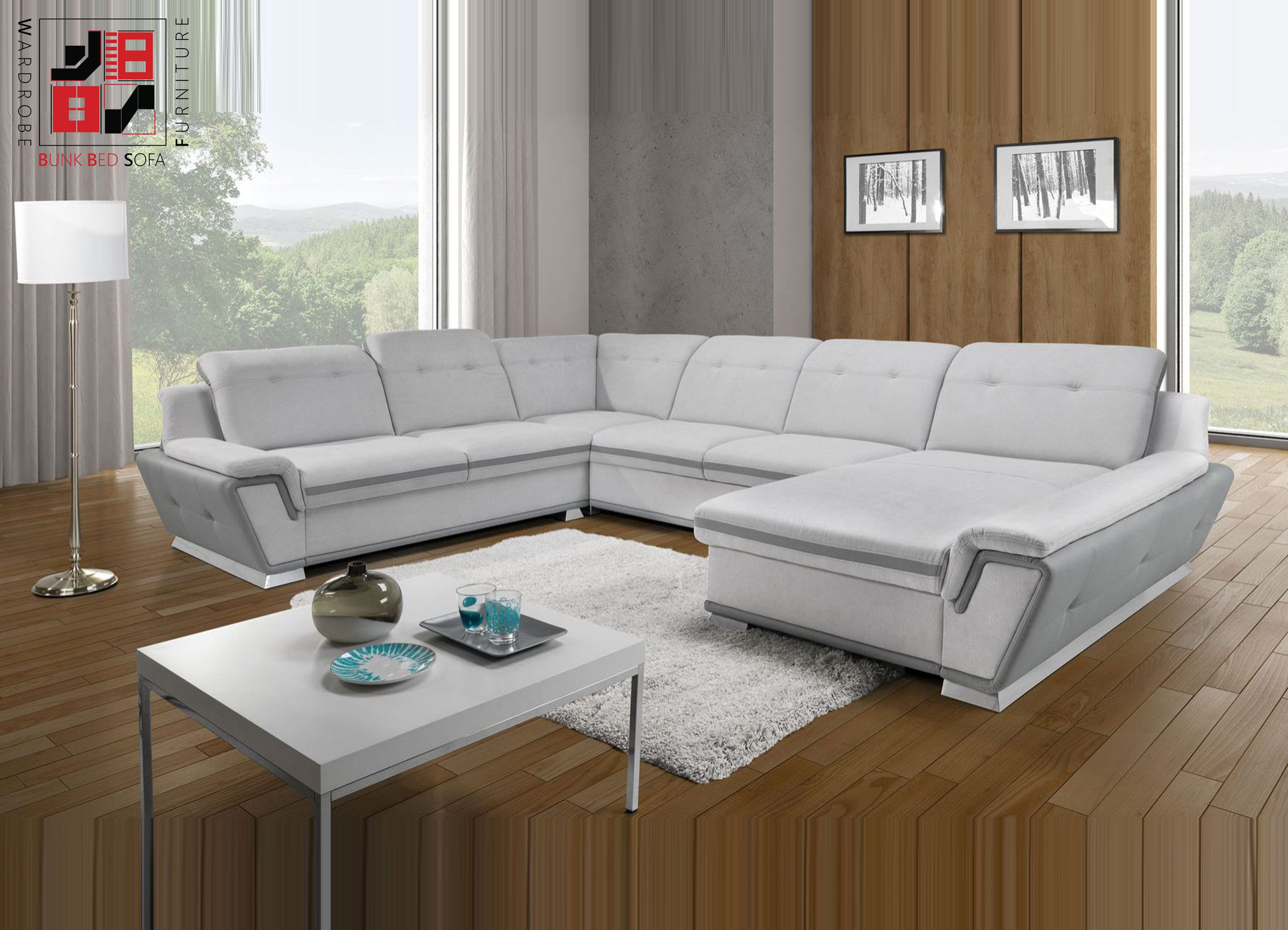 ISELLE XL U shape sofa bed which increase your confidence &gt
