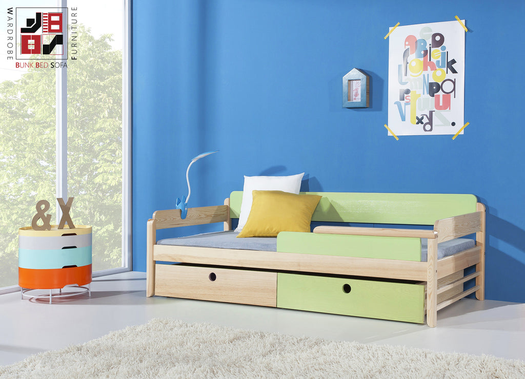 TANU - Really cute single bed with drawers