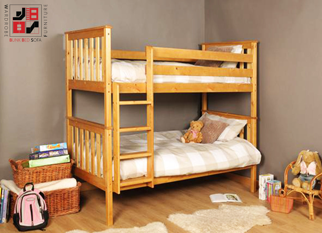 SARITO - great quality natural wood bunk bed