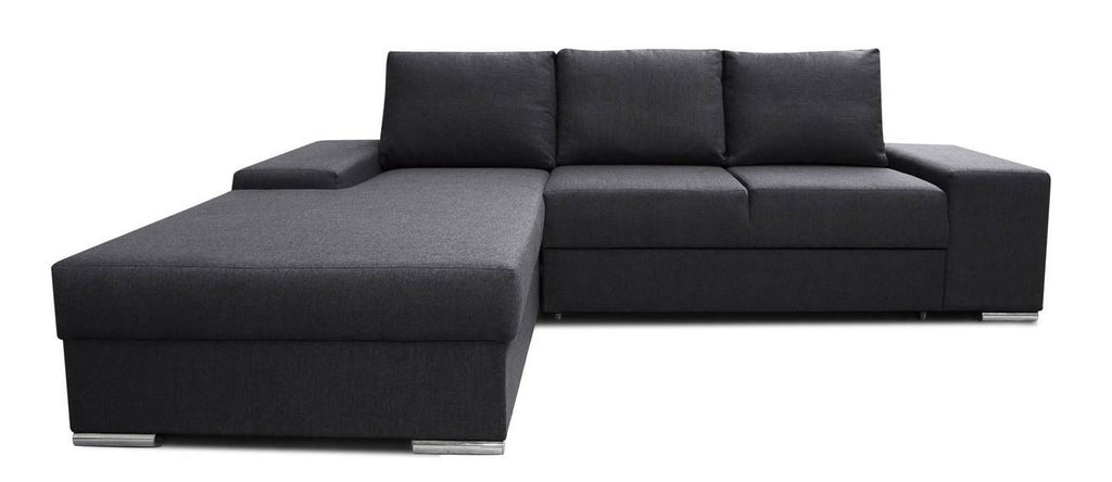CAMILA - classy corner sofa bed with storage