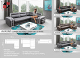 AVATAR - Functional and solid designed corner sofa bed - Wardrobe-Bunk-Bed-Sofa - 6